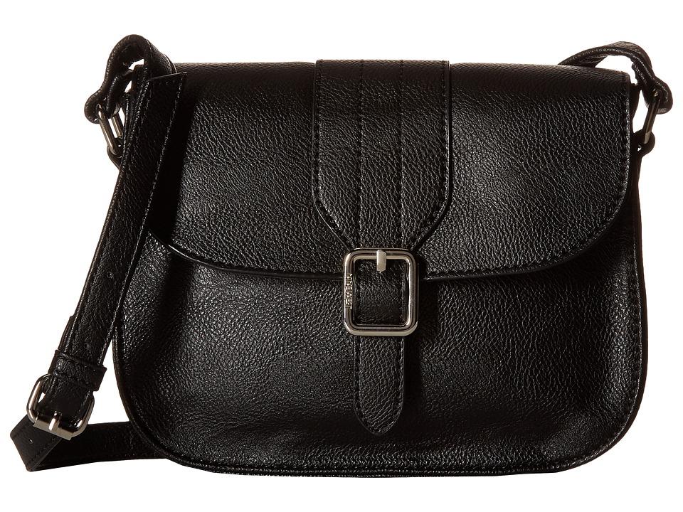 Nine West - Buckle Near (Black/Black) Handbags