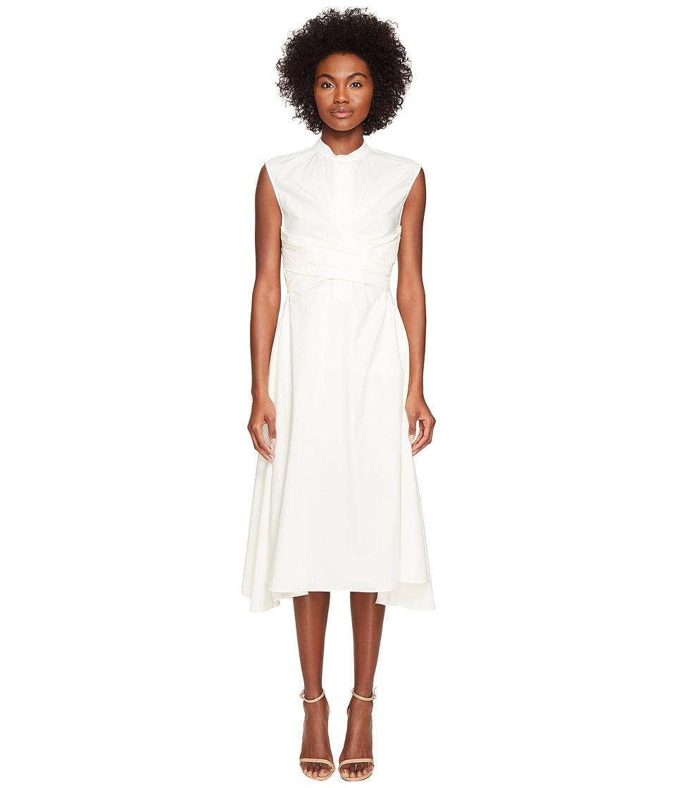 BELSTAFF - Carissa Poplin Twist Front Dress (White) Women's Dress