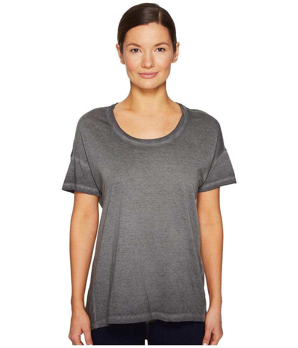 Image of BELSTAFF - Alisma High-Low T-Shirt Exclusive (Black) Women's T Shirt