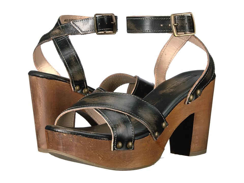 Bed Stu - Kalah (Black Handwash) High Heels