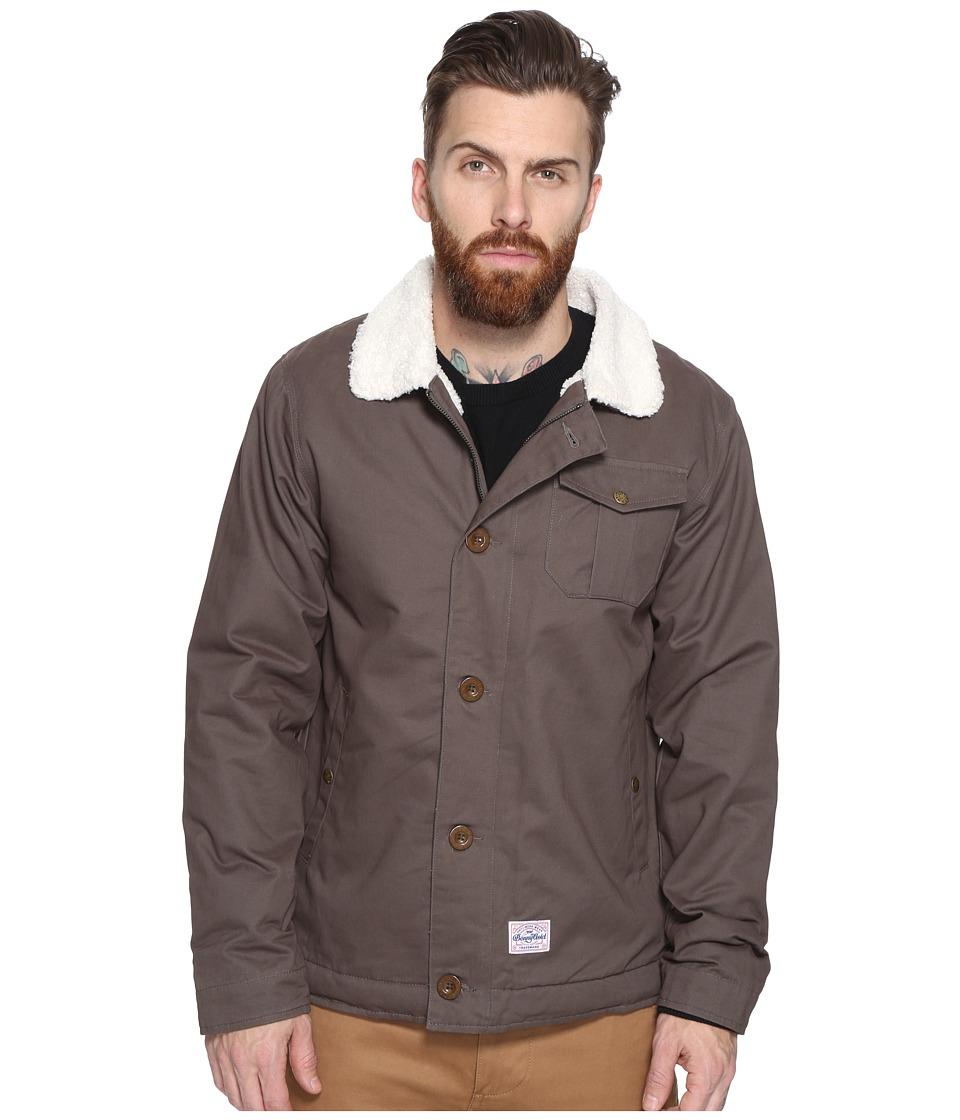 Benny Gold - Pilot Deck Coat (Grey) Men's Coat