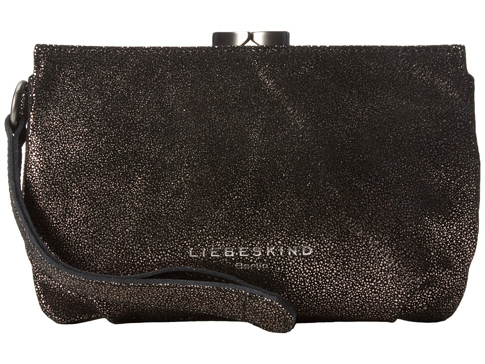 Liebeskind - Patsy (Black Glitter) Cosmetic Case