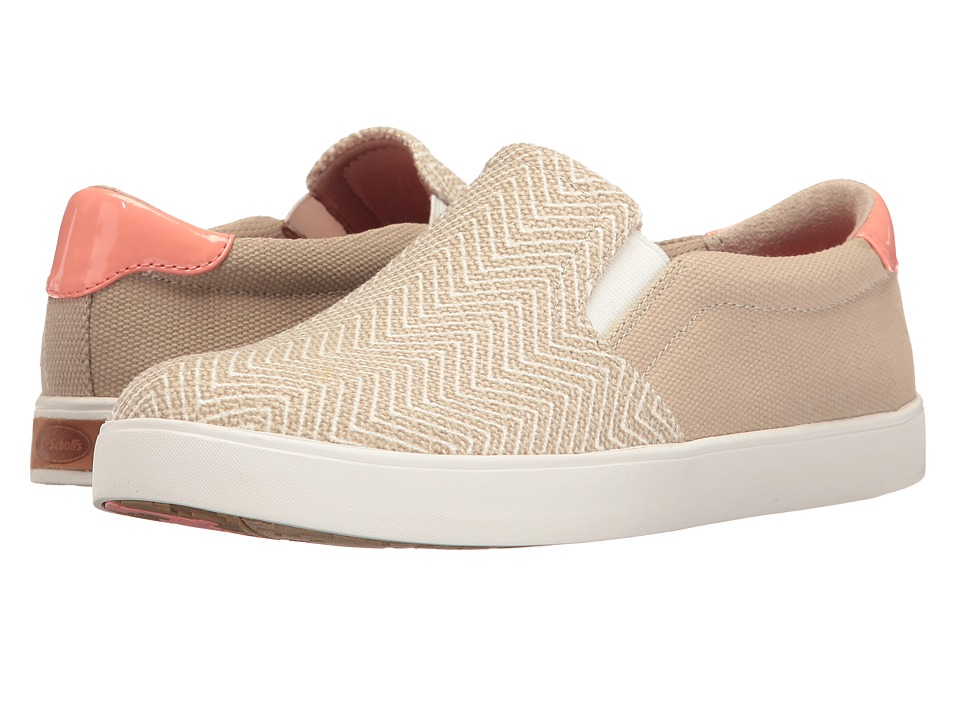 Dr. Scholl's - Madison (Simply Taupe Chevron Canvas) Women's Shoes