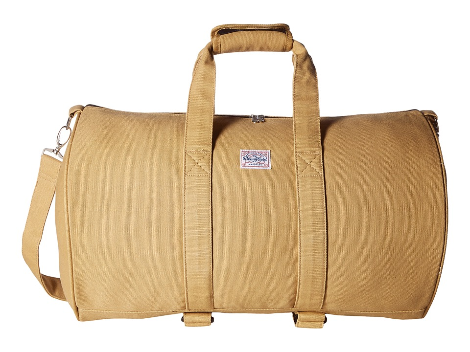 Benny Gold - Overnight Duffel Bag (Tan) Duffel Bags