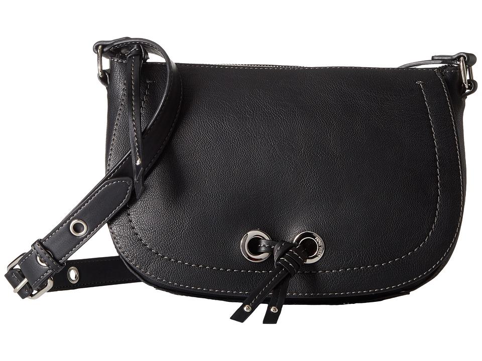 Nine West - Bohemian Crossbody (Black/Black) Cross Body Handbags