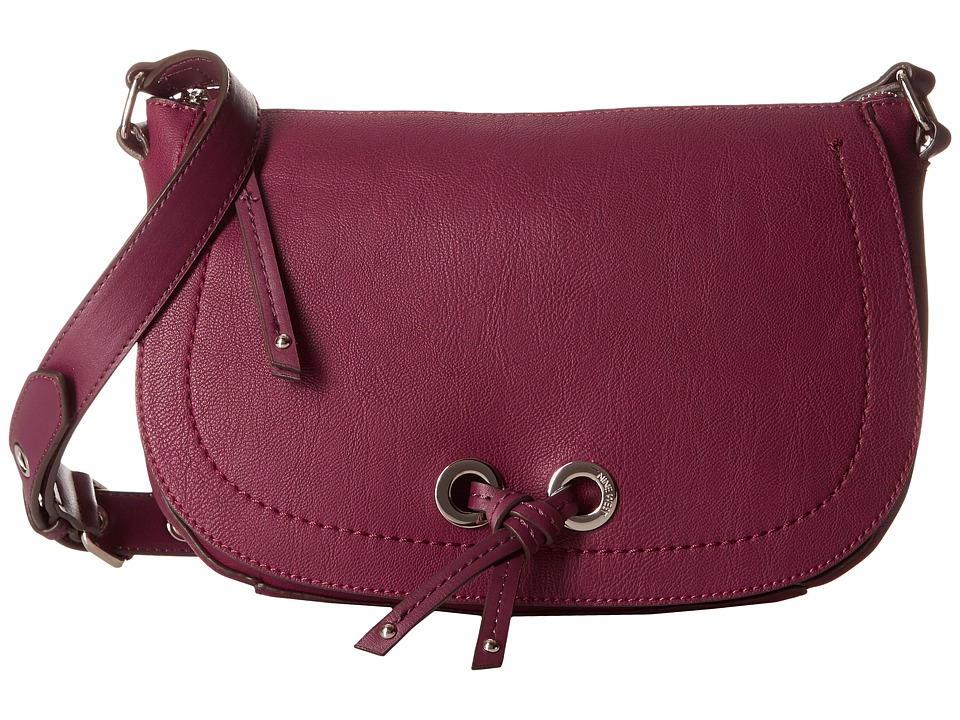 Nine West - Bohemian Crossbody (Crimson/Crimson) Cross Body Handbags
