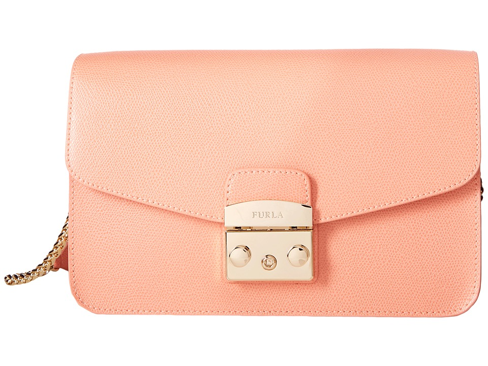Furla - Metropolis Small Shoulder Bag (Pesca) Shoulder Handbags