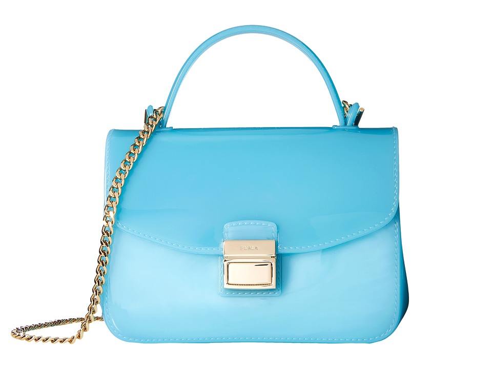 Furla - Candy Sugar Mini Crossbody (Turchese) Cross Body Handbags