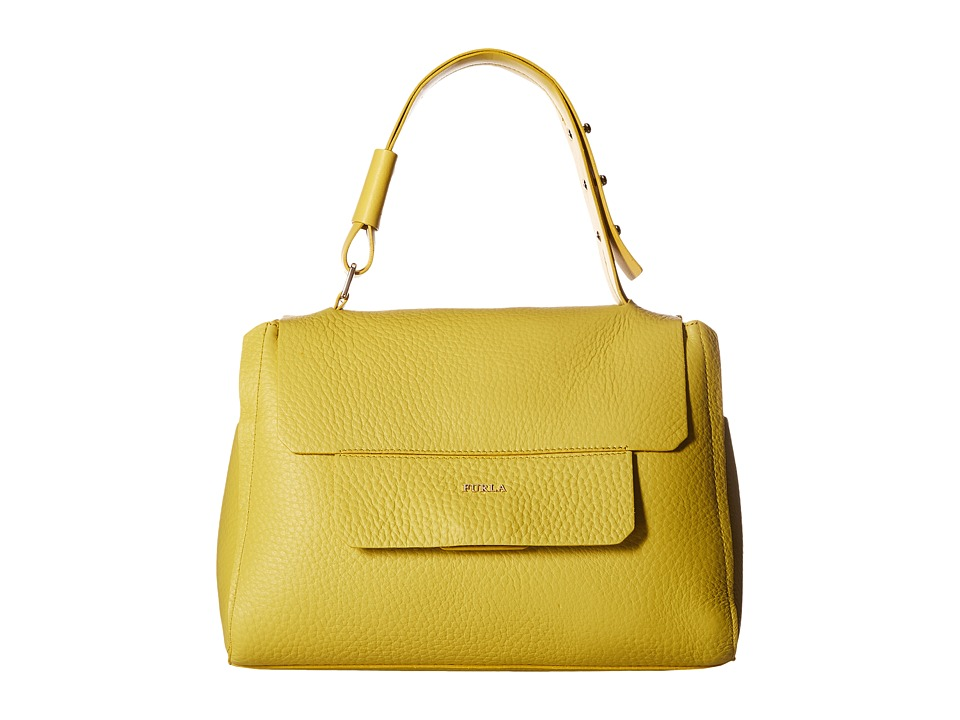 Furla - Capriccio Medium Top-Handle (Senape) Top-handle Handbags