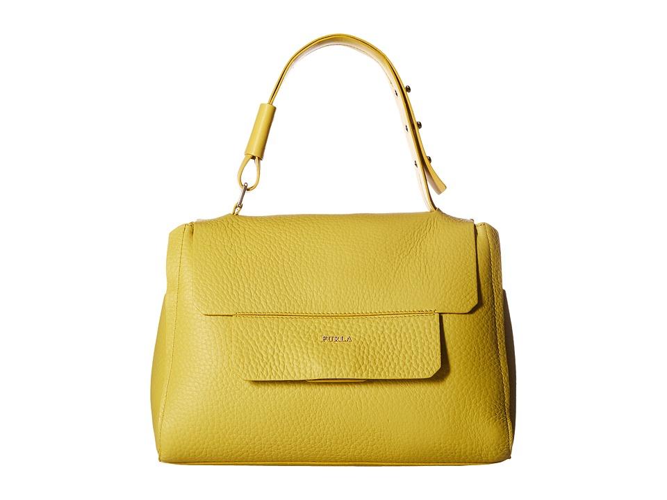 Furla - Capriccio Medium Top-Handle (Senape) Top-handle Handbags