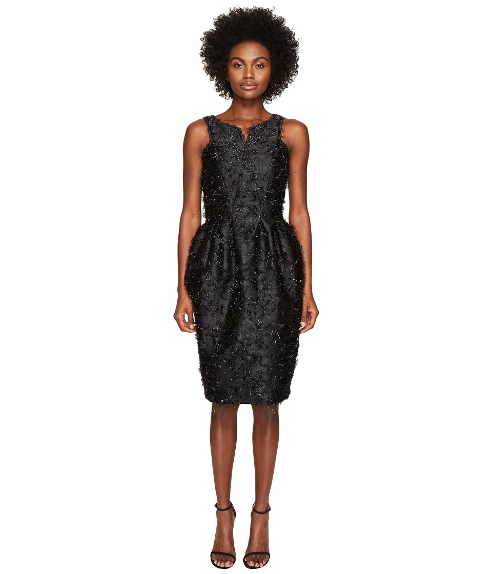 Zac Posen - Angel Hair Lurex Sleeveless Dress (Eclipse) Women's Dress