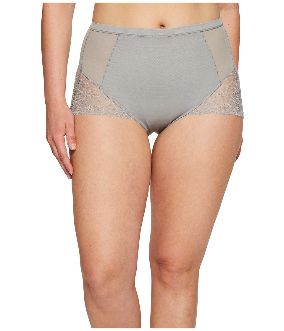 Spanx - Plus Size Spotlight On Lace Brief (Classic Grey) Women's Underwear