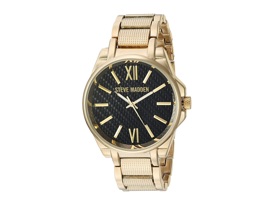 Steve Madden - Steel Mesh Band Watch (Gold) Watches