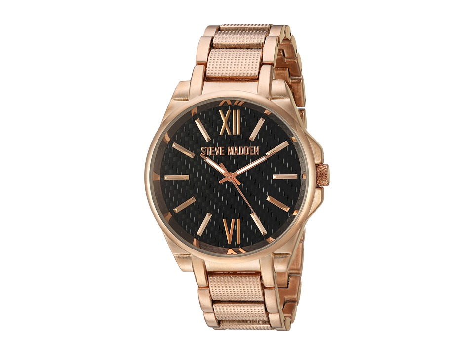 Steve Madden - Carbon Watch (Rose Gold) Watches