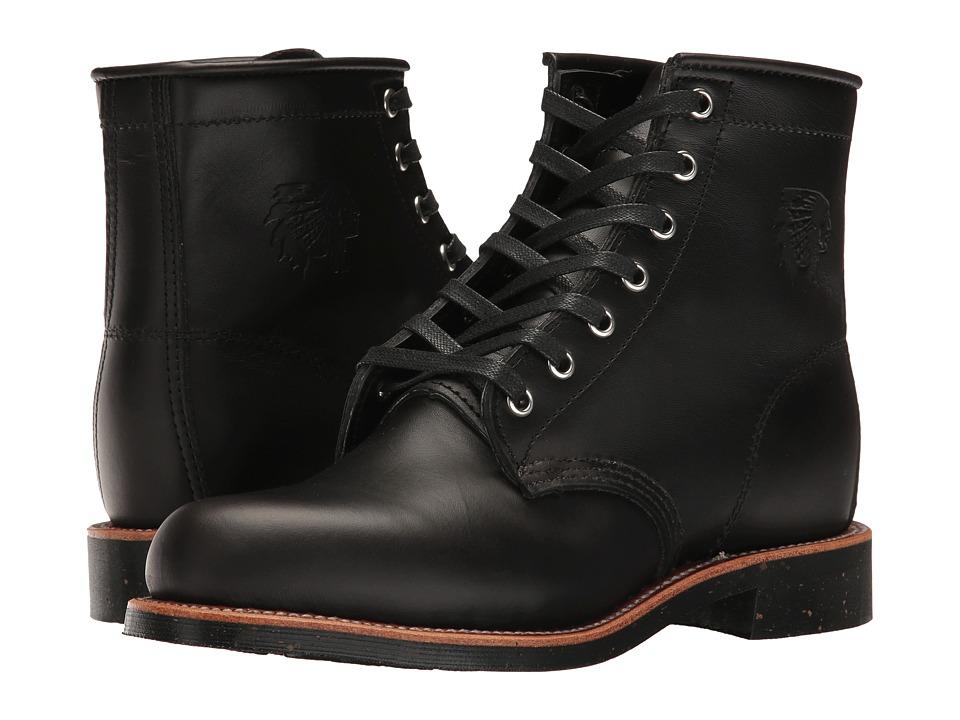 Chippewa - 6 Whirlwind Service Boot (Black) Women's Work Boots