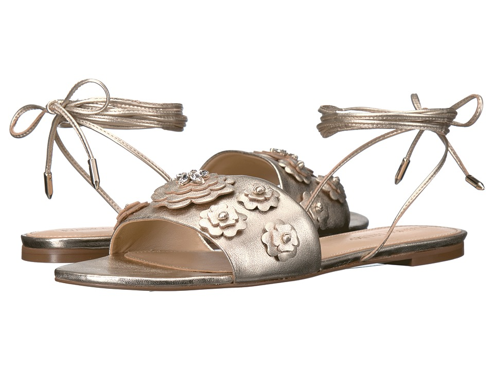 Ivanka Trump - Catera (Gold Leather/Foil Rava) Women's Sandals