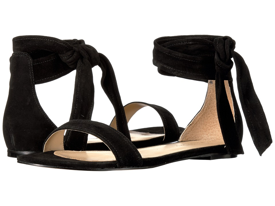 Ivanka Trump - Carthe (Black Suede/Savoy Suede) Women's Sandals