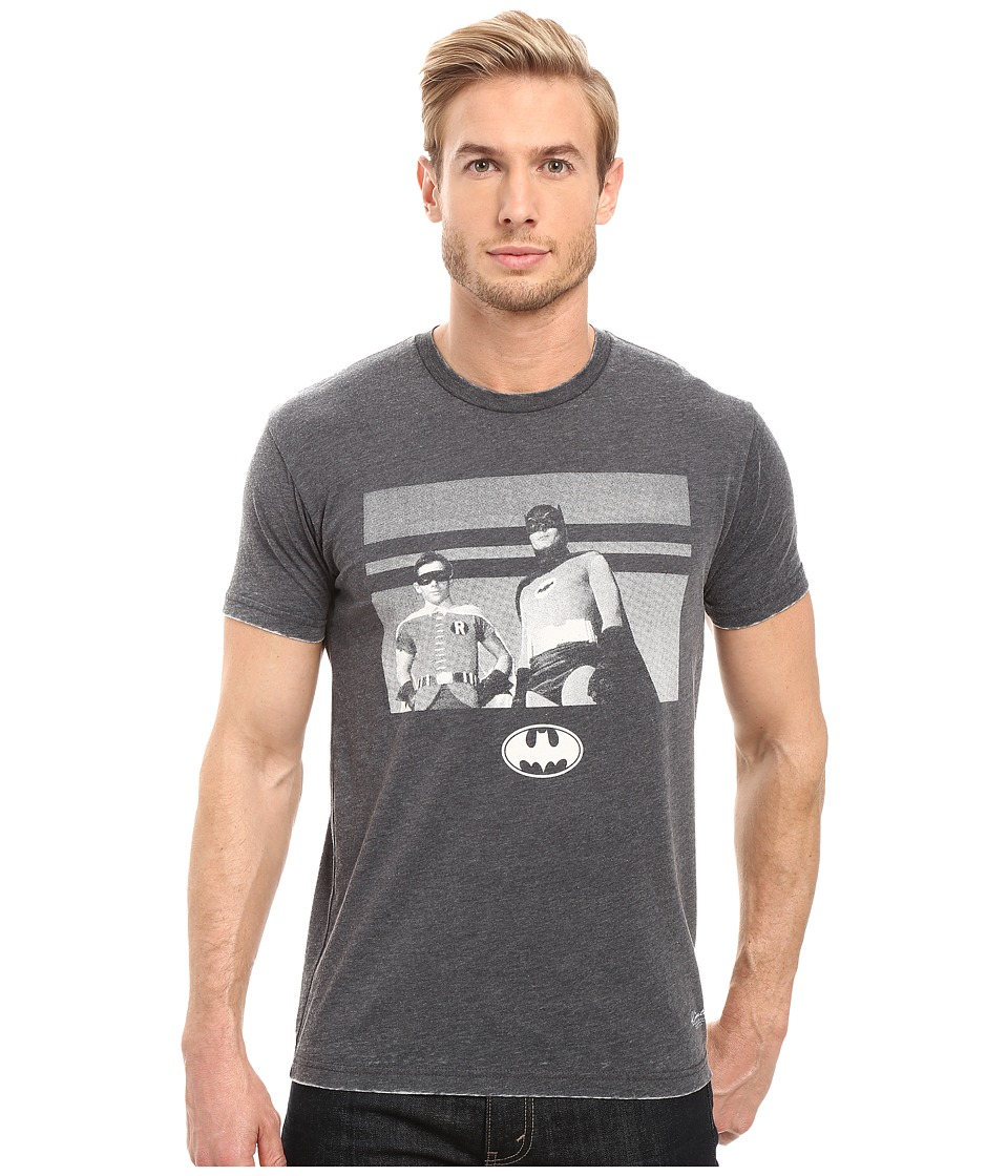 KINETIX - Batman and Robin (Charcoal) Men's T Shirt