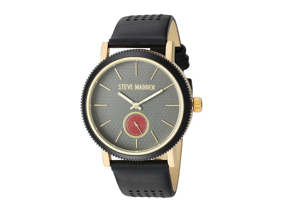 Steve Madden - Officer Watch (Gold/Black) Watches