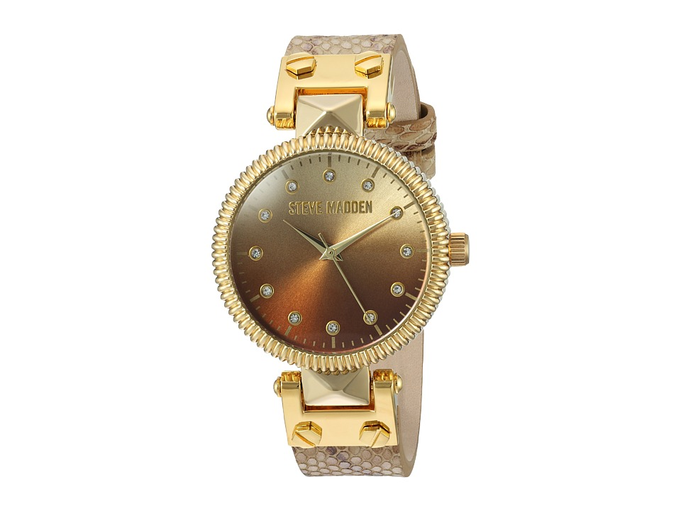Steve Madden - SMW003AG (Cream) Watches