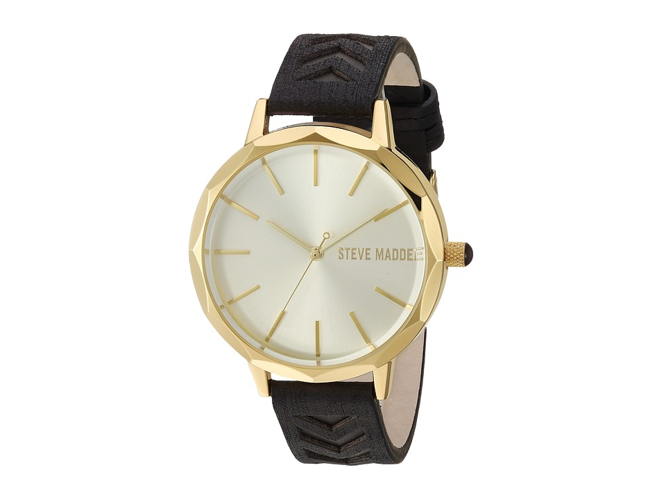 Steve Madden - SMW011G (Gold/Black) Watches
