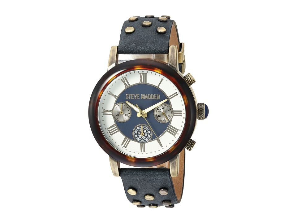 Steve Madden - SMW001AG (Navy) Watches