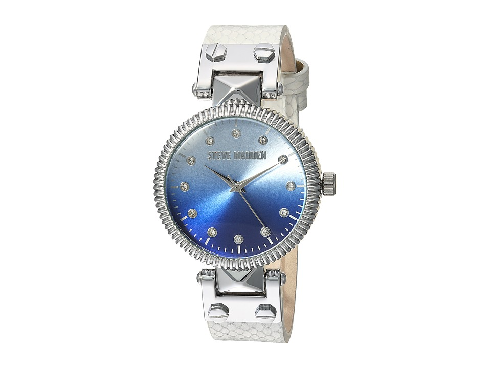 Steve Madden - SMW003M1 (White) Watches