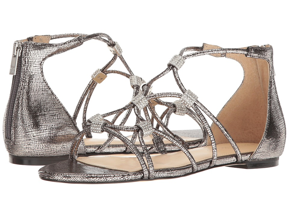 Ivanka Trump - Chaley2 (Pewter Foil Mini Lizard) Women's Sandals