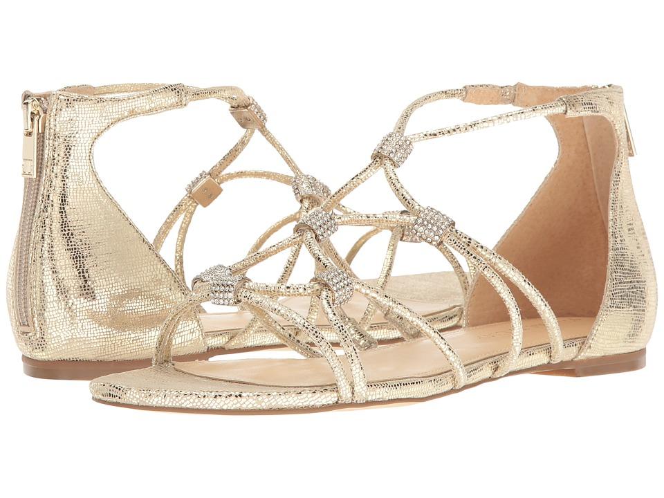 Ivanka Trump - Chaley2 (Gold Leather/Foil Mini Lizard) Women's Sandals