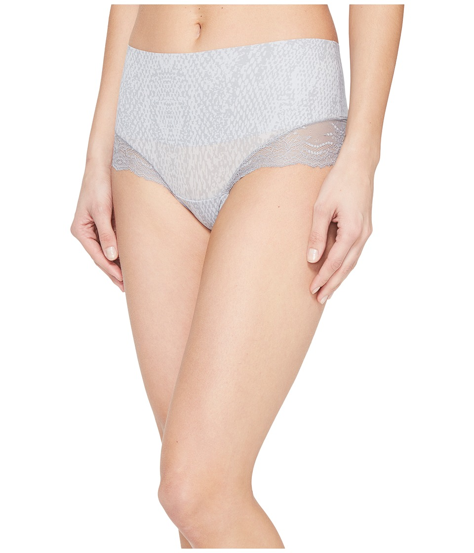 Spanx - Undie-tectable Lace Hi-Hipster (Grey Python) Women's Underwear