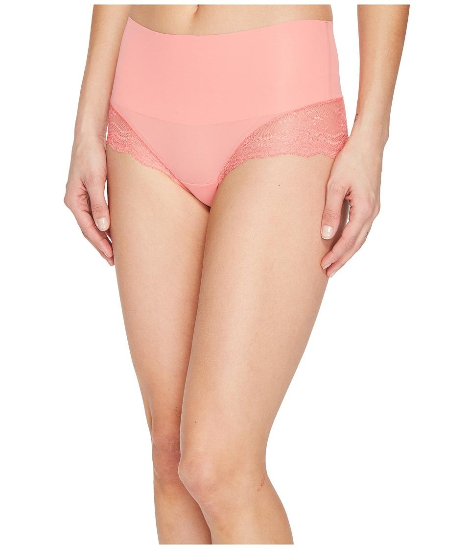 Spanx - Undie-tectable Lace Hi-Hipster (Watermelon Pink) Women's Underwear