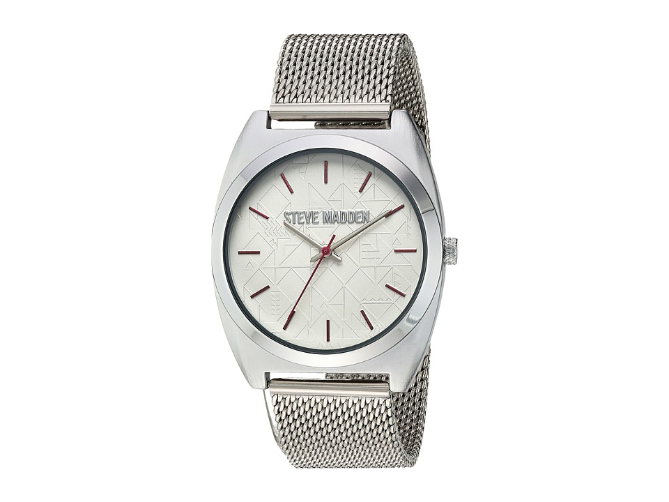 Steve Madden - SMW013PK (Silver/Pink) Watches