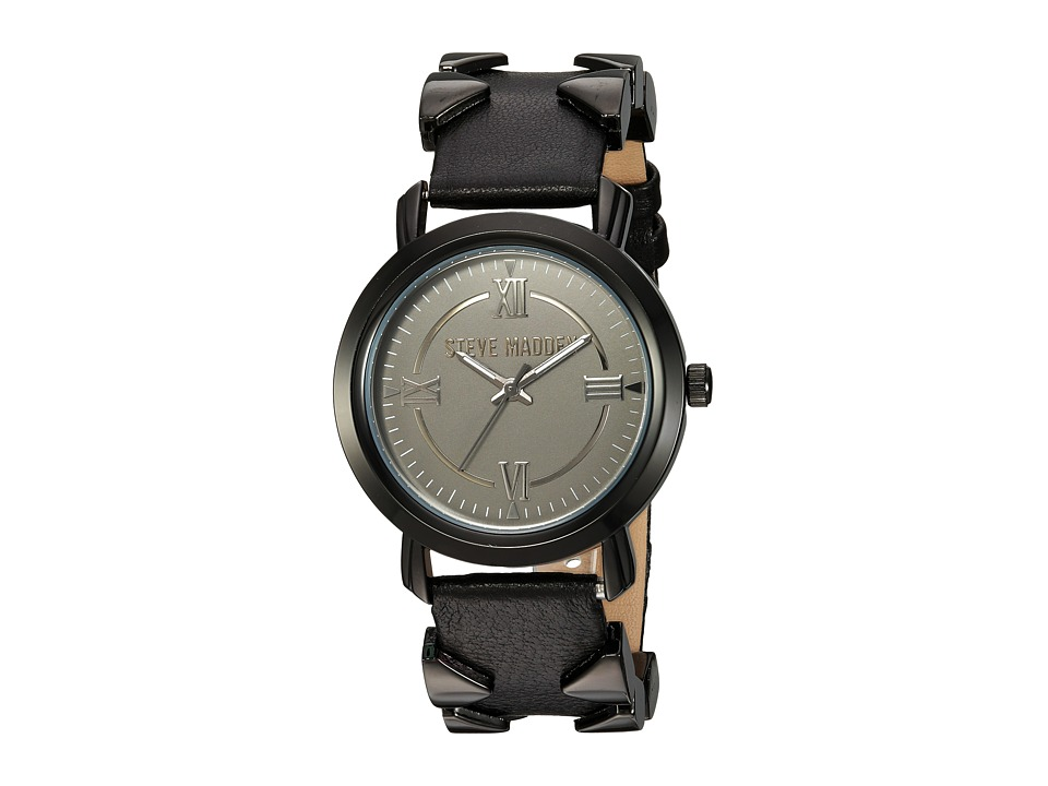 Steve Madden - SMW038BK (Black) Watches