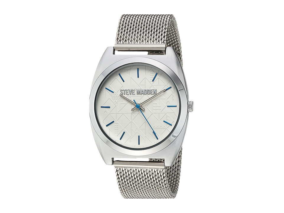 Steve Madden - SMW013BL (Silver/Blue) Watches