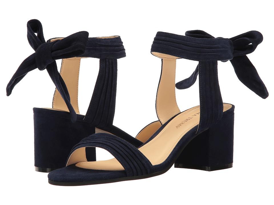 Ivanka Trump - Edline (Dark Blue FH Kid Suede) Women's 1-2 inch heel Shoes