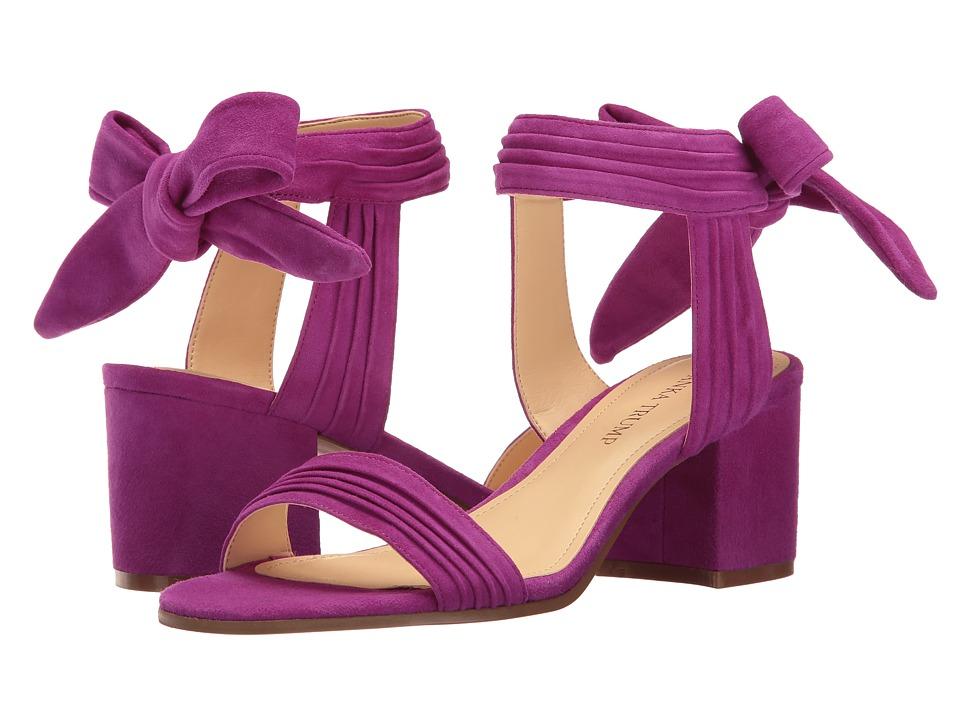 Ivanka Trump - Edline (Dark Pink Suede/FH Kid Suede) Women's 1-2 inch heel Shoes