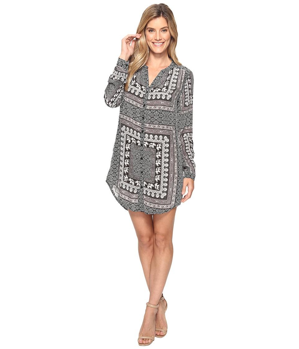 Tolani - Chloe Tunic Dress (Hathi) Women's Dress