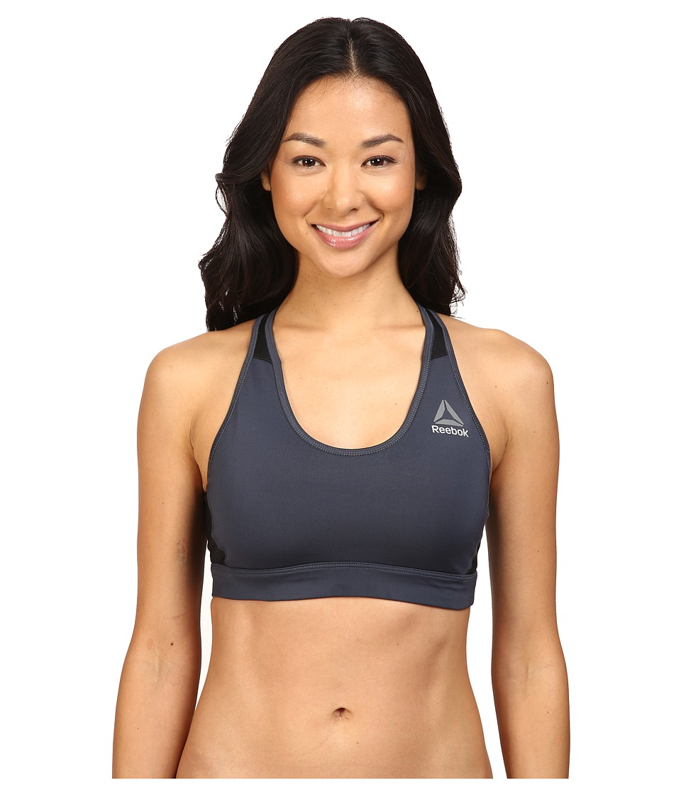 Reebok - Workout Ready SL MS Bra (Smokey) Women's Bra