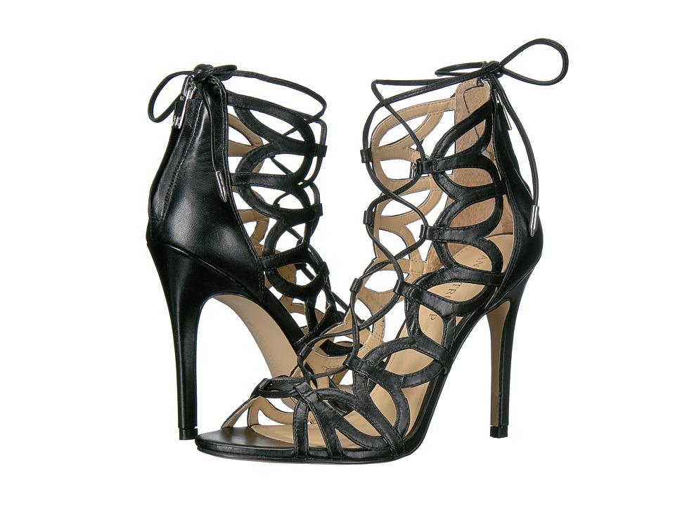 Ivanka Trump Hela (Black Leather/Fez Nappa) High Heels