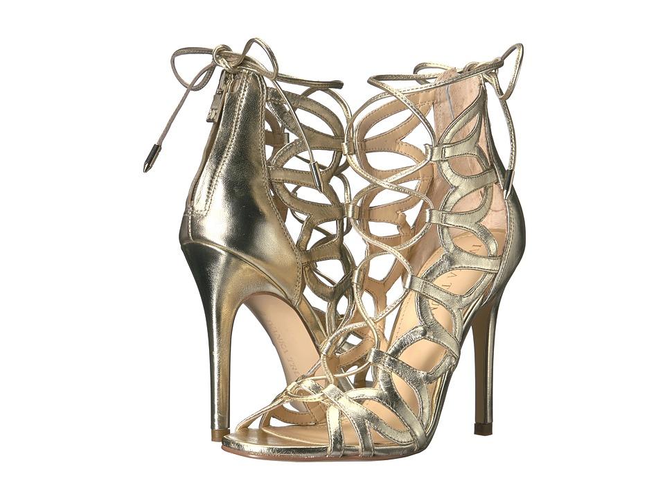 Ivanka Trump - Hela (Gold Leather/Metallic Sheep Nappa) High Heels