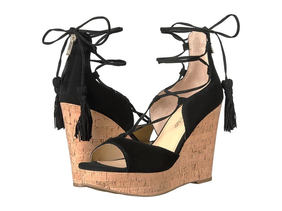 Ivanka Trump - Hellan3 (Black Suede/Savoy Suede/Camoscio Suede) Women's Wedge Shoes
