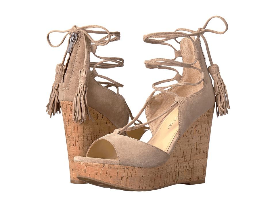 Ivanka Trump - Hellan3 (Light Natural FH Kid Suede) Women's Wedge Shoes