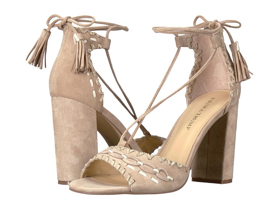 Ivanka Trump - Karita (Light Natural FH Kid Suede/Fez Nappa/Capria) High Heels
