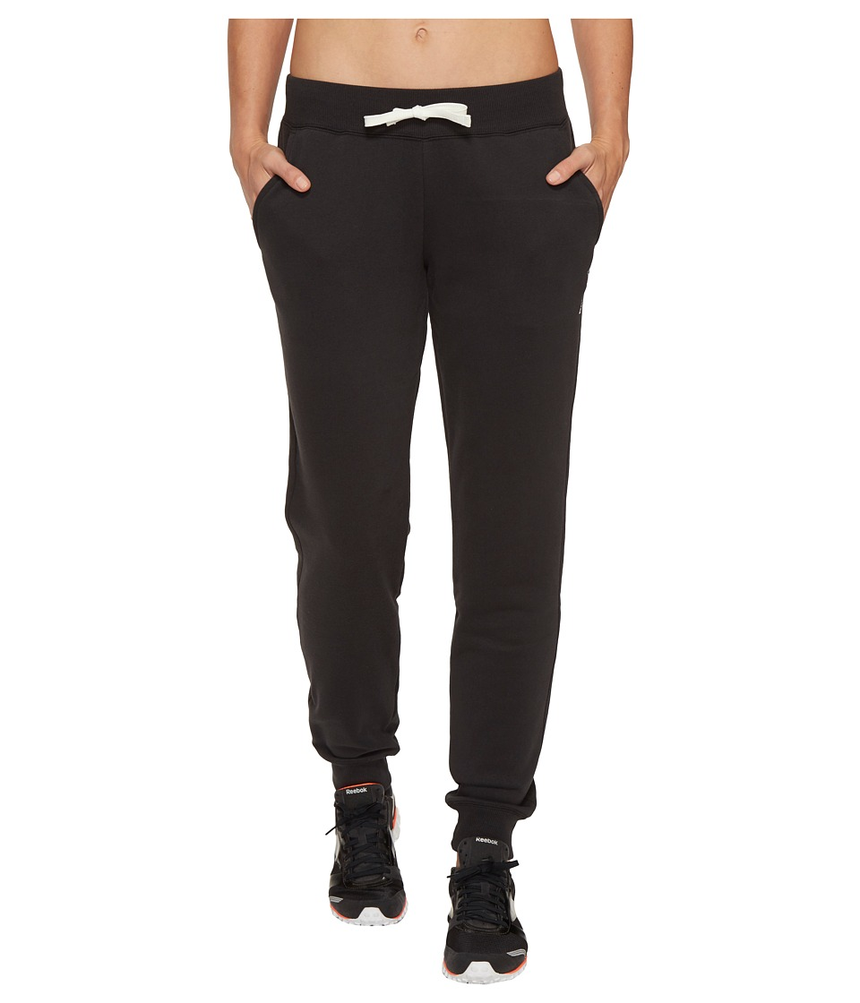 Reebok - El Fleece C Pants (Black) Women's Casual Pants