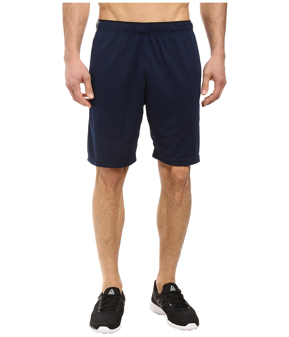 Reebok - Workout Ready Knit Shorts (Collegiate Navy 1) Men's Shorts