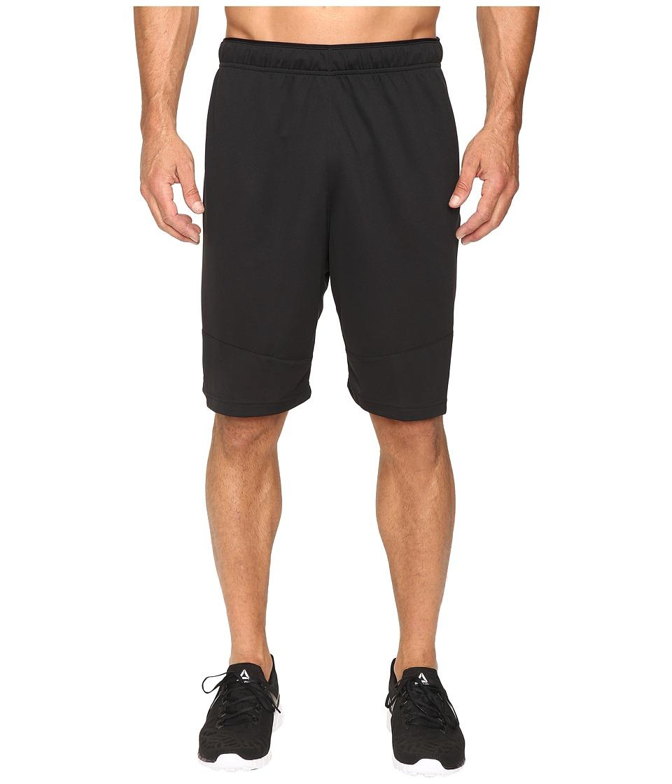 Reebok - Workout Ready Knit Shorts (Black 1) Men's Shorts