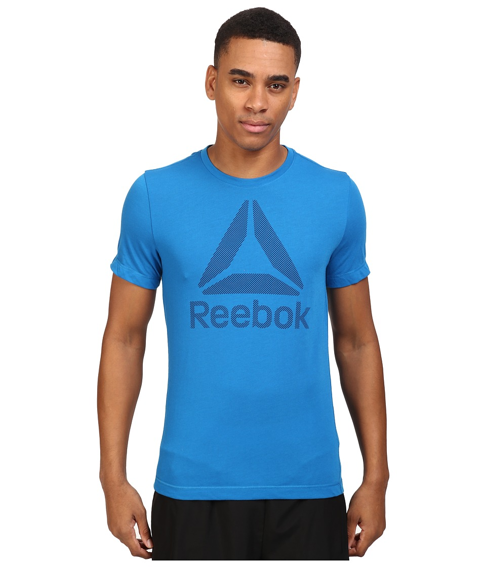 Reebok - Work BL Sup Tee (Ins Blue) Men's T Shirt
