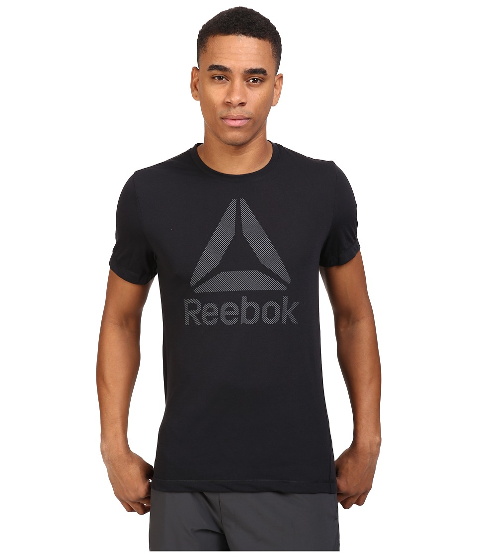 Reebok - Work BL Sup Tee (Black) Men's T Shirt