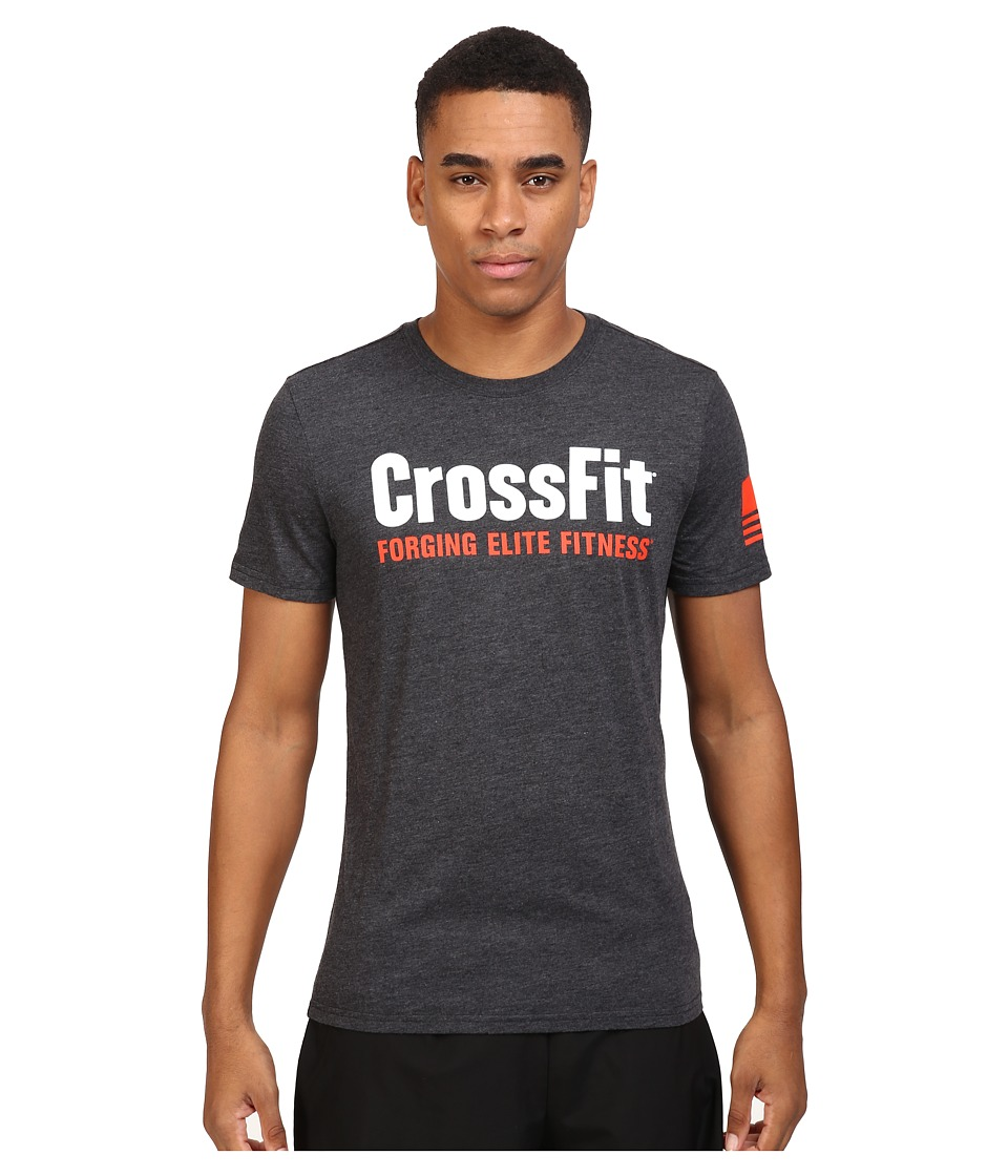 Reebok - Crossfit Forget Elite Fitness Tee (Black) Men's T Shirt