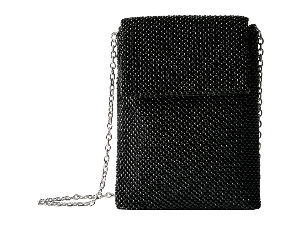 Jessica McClintock - Savannah Mesh Crossbody (Black) Cross Body Handbags